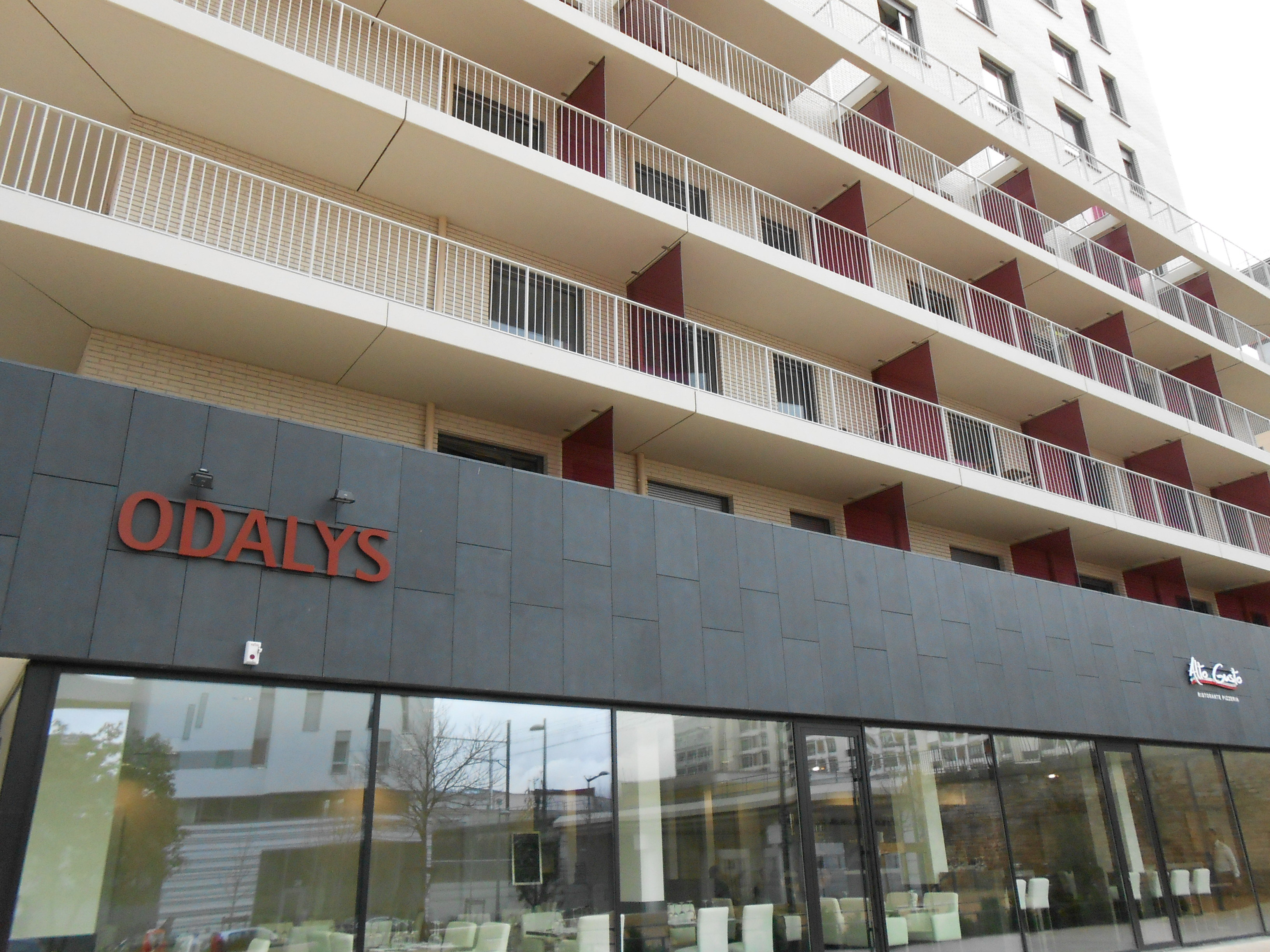 Appart hotel odalys lyon confluence r for Appart hotel odalys