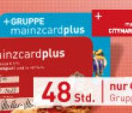 mainzcardplus - Ihr Entdeckerticket